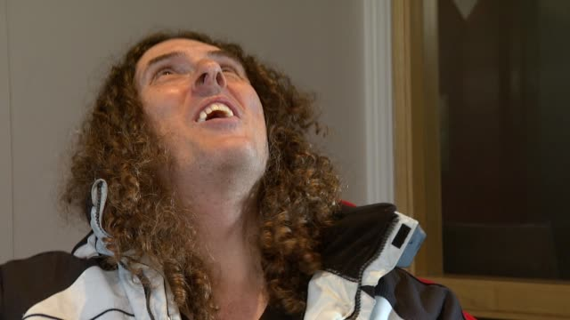 Weird Al Yankovic on whether he's got a favourite line at the Weird Al Yankovic Interview at London England