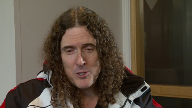Weird Al Yankovic on why he took on the moniker Weird at the Weird Al Yankovic Interview at London England