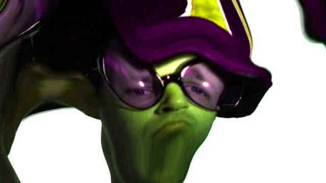 Weird, Strange & Odd Green Man
