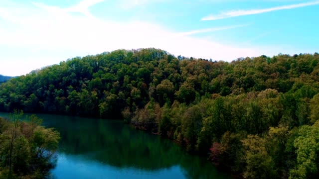 weiss lake in fort payne alabama - weiß stock videos & royalty-free footage
