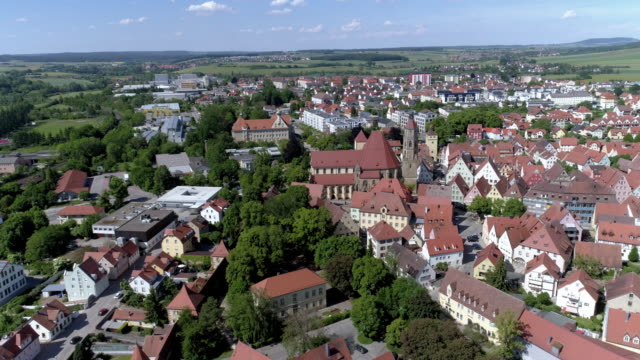 weissenburg in bavaria - romantic road germany stock videos and b-roll footage
