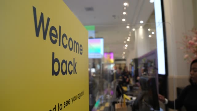 GBR: Selfridges Reopens As Non-essential Retailers Welcome Back Customers After Lockdown