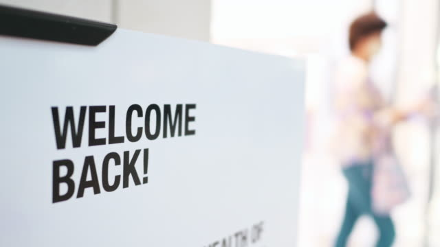welcome back! - welcome sign stock videos & royalty-free footage