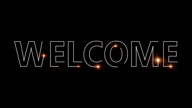 welcome laser welding - welcome sign stock videos & royalty-free footage