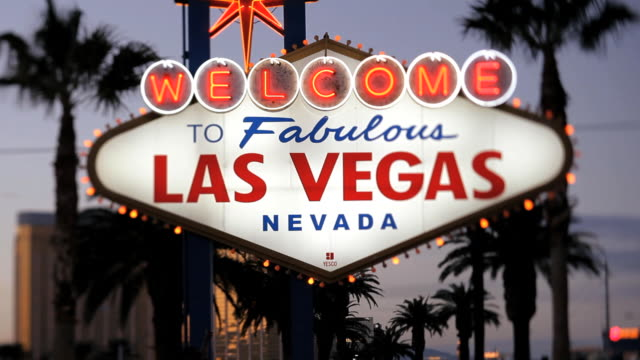 Welcome to Las Vegas sign, United States of America, Nevada