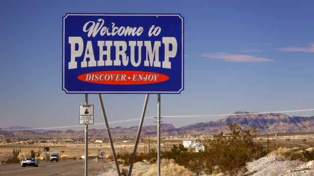 Welcome to Pahrump Nevada Sign