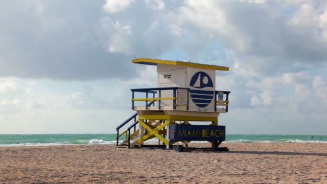 welcome to south beach - miami beach stock videos & royalty-free footage
