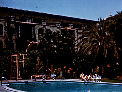 1945 - welcome to southern california - 13 of 23 - 1945 stock videos and b-roll footage