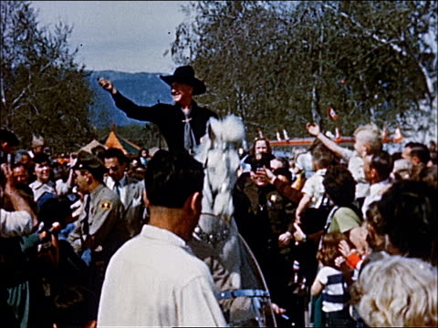 1945 - welcome to southern california - 14 of 23 - agricultural fair stock videos & royalty-free footage