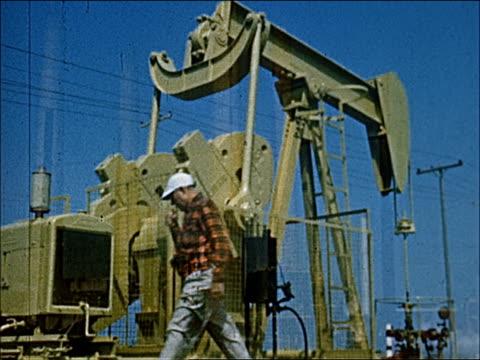 1945 - welcome to southern california - 19 of 23 - 石油産業点の映像素材/bロール