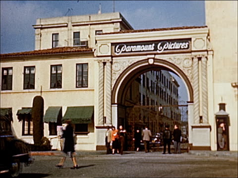 stockvideo's en b-roll-footage met 1945 - welcome to southern california - 8 of 23 - hollywood california