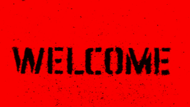 welcome - design element stock videos & royalty-free footage