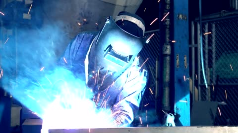 welder is welding repair automotive part - welding stock videos & royalty-free footage