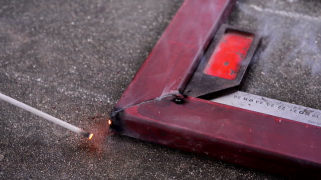 welders at work. - metal industry stock videos and b-roll footage