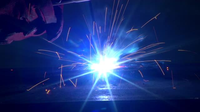 welding and welder - heavy metal stock videos & royalty-free footage
