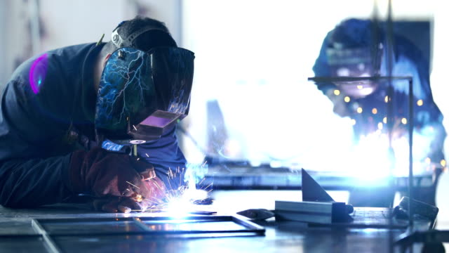 welding process. - produced segment stock videos & royalty-free footage