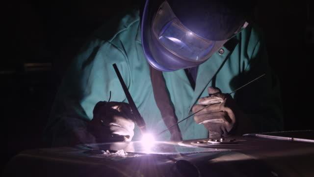 welding - welding helmet stock videos & royalty-free footage