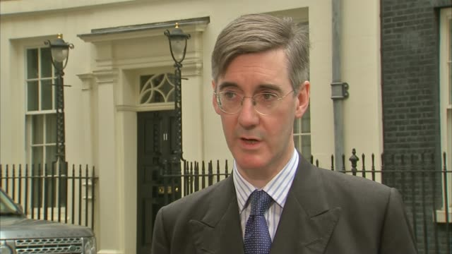 Jacob ReesMogg interview **Unidentified third party audio overlaid SOT** Rees Mogg interview SOT