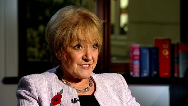 universal credit system criticised by public accounts committee england london int margaret hodge mp interview sot it's the most important program... - マーガレット・ホッジ点の映像素材/bロール