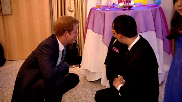 wellchild awards 2013: prince harry presents bravery awards; england: london: dorchester hotel: int **beware flash photography** award winners ,... - dorchester hotel stock videos & royalty-free footage