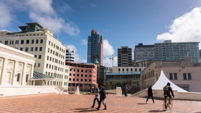 Wellington Civic Square - Time Lapse