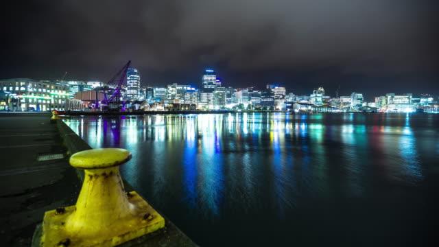 Wellington Harbour - time-lapse