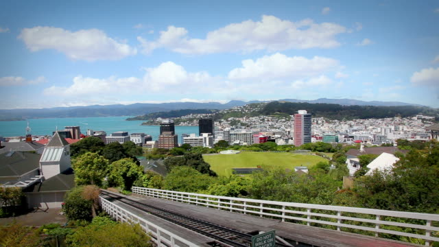 wellington, new zealand - tram stock videos & royalty-free footage