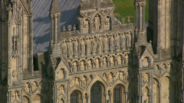 wells cathedral - somerset stock videos & royalty-free footage