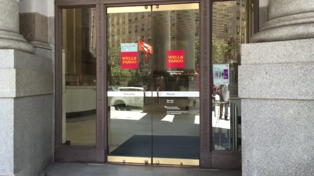 wells fargo bank at one montgomery in san francisco - wells fargo stock videos and b-roll footage