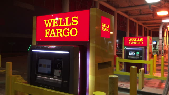 wells fargo & company is an american multinational financial services company headquartered in san francisco, california, with central offices... - banking stock videos & royalty-free footage