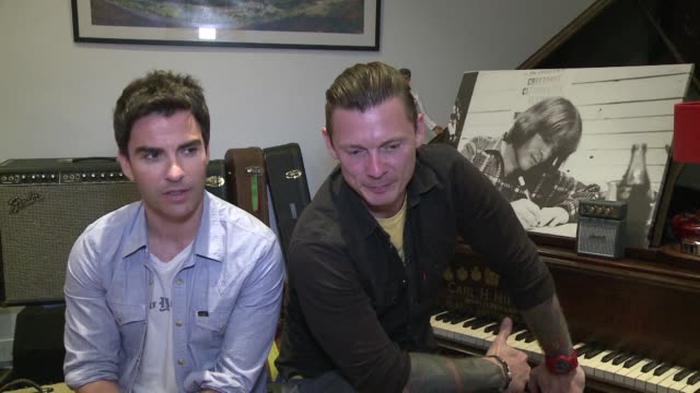 welsh band stereophonics are back with their ninth studio album called keep the village alive, the title of which is inspired by hardworking men and... - hair band stock videos & royalty-free footage