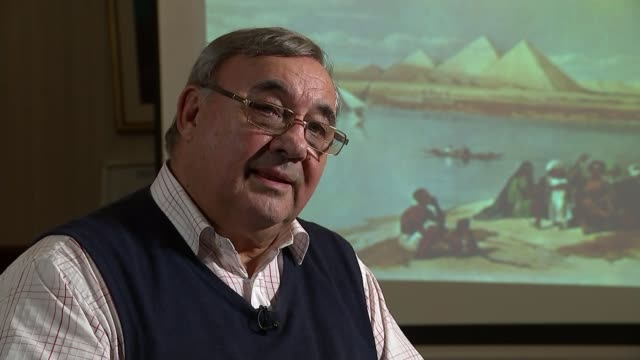 Welsh engineering company restores ancient Egyptian pyramid Peter James interview SOT
