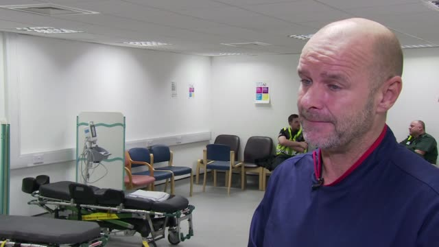 Welsh government proposes minimum price for alcohol Cardiff Alcohol Treatment Centre INT Various of Wayne Parsons speaking to anonymous woman...