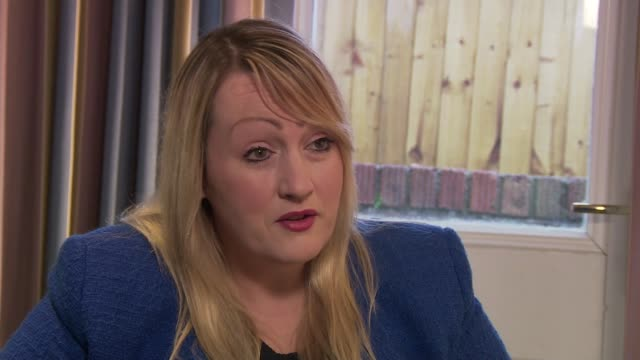 Welsh government proposes minimum price for alcohol WALES INT Rebecca Evans AM interview SOT People in bar Disco lights in bar Reporter to camera