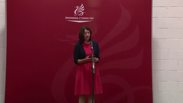 welsh parliament elections: labour party one short of a majority; wales: rhondda valley: int leanne wood speaking after losing her seat to the labour... - channel 4 news stock videos & royalty-free footage