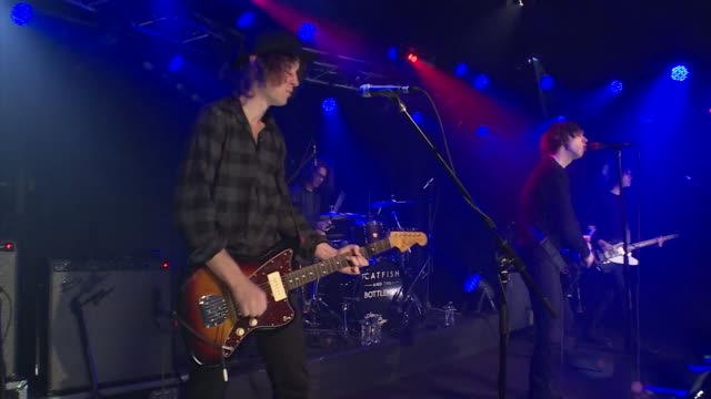Welsh rockers Catfish and the Bottlemen brought their indie sound to the JBTV stage with their song 'Kathleen'