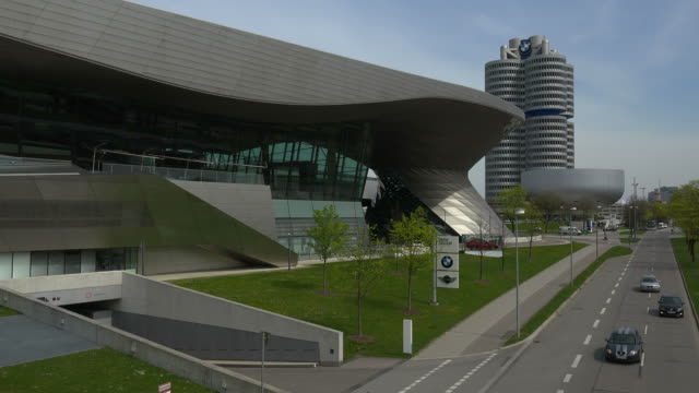 BMW Welt and BMW Building, Munich, Bavaria, Germany