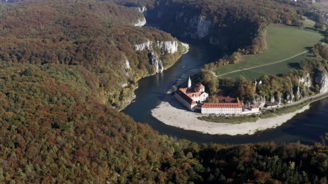 Kloster Weltenburg an der Donau in Bayern