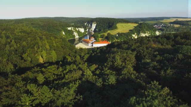 Weltenburg Abbey On The Danube In Bavaria