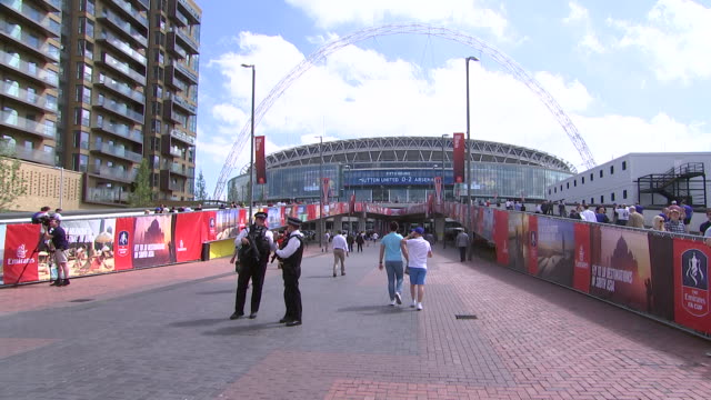 wembley stadium london, england - healthcare and medicine or illness or food and drink or fitness or exercise or wellbeing stock videos & royalty-free footage