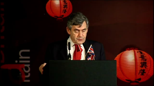 Wen Jiabao and Gordon Brown speeches at business summit Gordon Brown MP speech SOT Shared focus on open markets / Early resumption of the Doha talks...