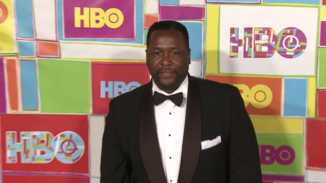 vídeos y material grabado en eventos de stock de wendell pierce at hbo's official 2014 emmy after party at the plaza at the pacific design center on august 25 2014 in los angeles california - premios emmy