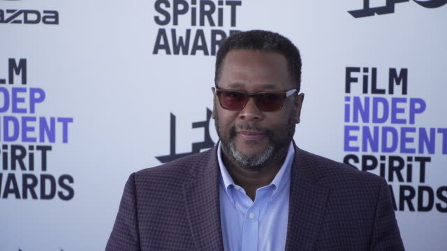 wendell pierce at the 2020 film independent spirit awards on february 08 2020 in santa monica california - film independent spirit awards stock videos & royalty-free footage