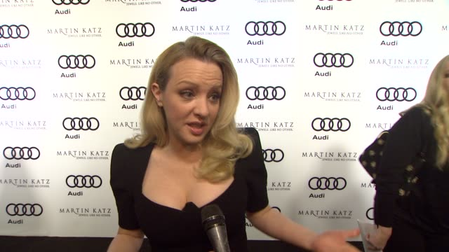 Wendi McLendon on kicking off Golden Globe week at this party her plans for Golden Globe night at the Audi And Martin Katz Celebrate The 2012 Golden...