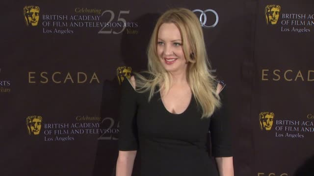 vídeos de stock, filmes e b-roll de wendi mclendoncovey at bafta los angeles 18th annual awards season tea party on 1/14/2012 in beverly hills ca - wendi mclendon covey