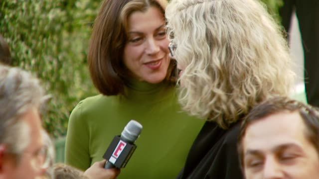 wendie malick and blythe danner at the 2007 ema awards at the wilshire ebell theatre and club in los angeles california on october 24 2007 - wilshire ebell theatre stock videos & royalty-free footage