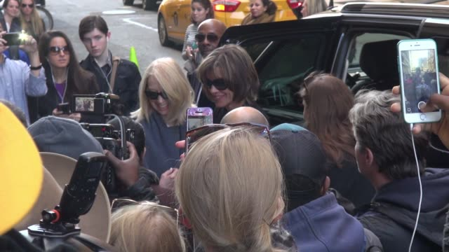 wendie malick arrives at the huffington post on november 04, 2014 in new york city. - wendie malick stock videos & royalty-free footage