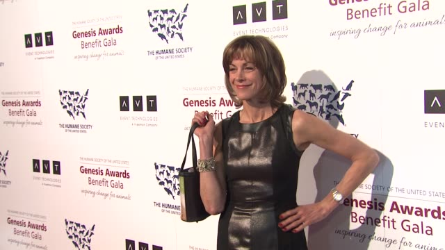 wendie malick at 2013 genesis awards benefit gala presented by the humane society of the united states on 3/23/13 in los angeles, ca . - wendie malick stock videos & royalty-free footage