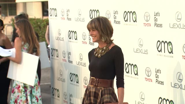 wendie malick at 25th annual environmental media awards in los angeles ca - environmental media awards stock videos & royalty-free footage