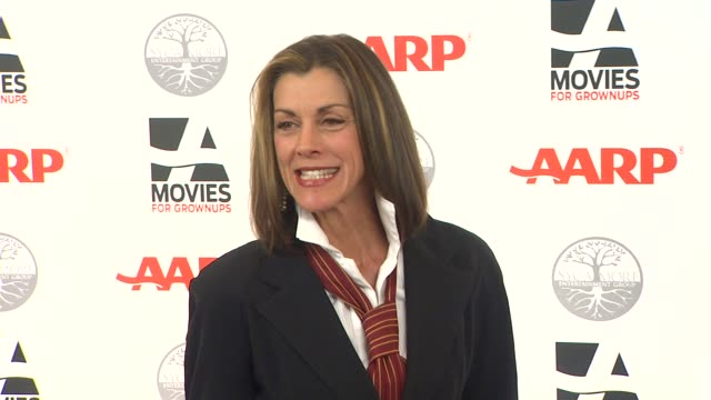 wendie malick at aarp magazine's 11th annual movies for grownups awards gala on 2/6/12 in beverly hills, ca. - wendie malick stock videos & royalty-free footage